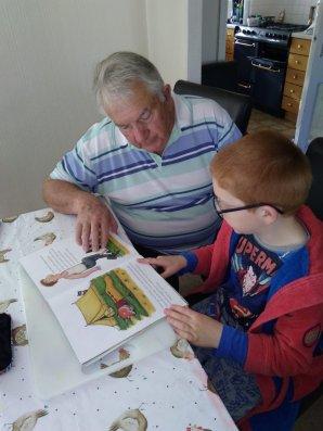 Owen and Grandad